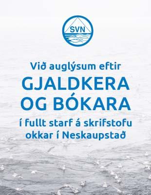 SVN - atvinnuauglýsing - okt 2021