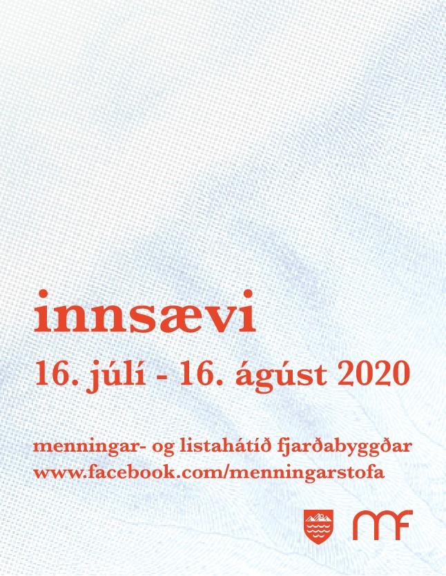 Menningarstofa - Innsævi 2020 - Afrit